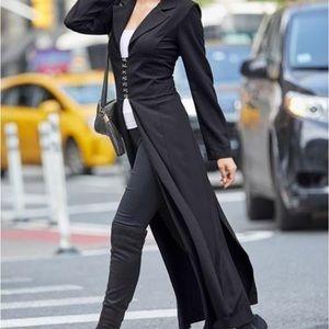 Maxi dress | duster | blazer